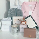 Win a Gucci Leather Card Case Wallet, Miss Dior Perfume, Slippers, PJs + More (Worth $900) from Ocean House Candles