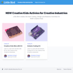 [NSW] Free Micro:Bit Kit or Arduino Coding Kit (with Creative Kids Voucher) Delivered @ Little Bird Electronics