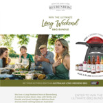 Win a Weber Family Q Premium Gas BBQ Worth $799 and $1,000 Beerenberg Farm Voucher from Beerenberg Farm