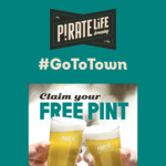 [SA] Claim Your Free Daily South Coast Pale Ale Pint @ Pirate Life Brewing via Selected Venues (Adelaide Only)