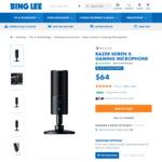Razer Seiren X USB Condenser Microphone $64 + $6 Delivery (Free C&C) @ Bing Lee