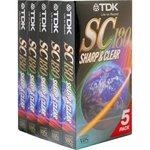 $2 - TDK 3hr VHS Tapes 5pk @ DickSmith