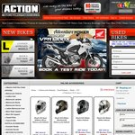 Shark RSI Motorcycle Helmets $199 + $15 Delivery