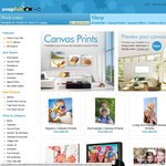 Snapfish - Exclusive Offer! 50% off Premium Canvas Prints