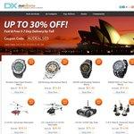 AU Exclusive Coupon Code: AUDEALS03 up to 30% off  DealExtreme