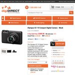 Olympus XZ 10, 12MB, 24 - 120 mm/F1.8-2.7, TFT Touch screen LCD $309, eBay cheapest $395