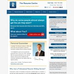 Resume Centre - LinkedIn (25% Off) and Cover Letter Writing (50% off with Purchase of Resume)