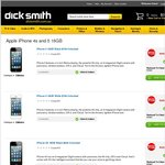 iPhone 5 and 4S Specials at DickSmith - Reduced to Clear - in Store Only