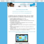 Mathletics: Rest of 2013 Free When Paying for 2014 Subscription (from $99)