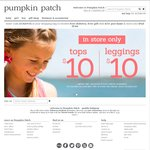 Pumpkin Patch - Nothing over $15 Dollars over Entire Site + Free Delivery