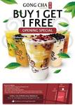Melbourne Springvale Gong Cha Buy 1 Get 1 Free 5 days! 23rd-27th Dec