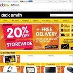 20% off Dick Smith eBay Store Plus Free Postage