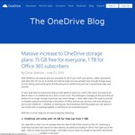 $0: OneDrive Increases FREE Storage from 7GB to 15GB (July Rollout)