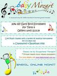 20% off Kids Music Class in Chatswood & Baulkham Hills NSW @ Baby Mozart