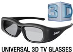 Universal 3D Active Shutter Glasses. $2.20 Reduced from $49.95, $12.10 Shipping, Max 2 @ Laser Co