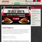 Red Rooster - Buy 2 Whole Roast Chickens for $20 and Get a 2 Month Quickflix Subscription