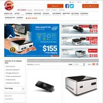 Intel NUC N2820 $155, Intel Compute Stick Z3735F $215 Free Ship w/ 2+ Items @Shopping Express