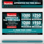 Makita 18V Brushless Drill + Impact Driver & 3x 4.0Ah  - $289 (after cashback) APPRENTICES ONLY