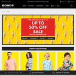 Chinos $15 (Was $69.95) Knitwears $15 (Was $69.95) Bras $5 (Was $39.95) @ Bonds (Free Shipping)
