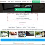 Curation Suite + Listening Engine - Content Curation Plugin for WordPress 25% off (Black Friday)