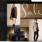 Burberry up to 50% off All Sales Items - Online and in Store