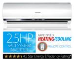 2.5Hp Split System Air Con $699.00 at COTD. 6.0Kw Cooling, 6.1Kw Heating. Postage $50-$150