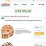 Krispy Kreme Online Orders 20% off