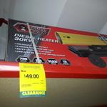 Full Boar Diesel Heater $49 (Was $380) @ Bunnings Warehouse Belrose NSW