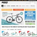 10% off Purchases @ Reid Cycles