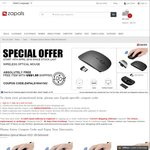 2.4GHz Wireless Optical Mouse with Nano Receiver US $0.99 (AU $1.27) Delivered From Zapals.com