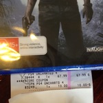 [PS4] Uncharted 4 $57.99 @ Costco (Membership Required)