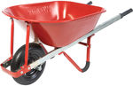 Westmix Steel Wheelbarrow 100L Red $31.60 at Masters