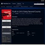 Free Movie - Truth in 24 II: Every Second Counts in Playstation Store on PS3 or PS4