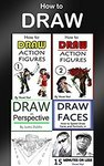 $0 eBook: 4 Drawing Books in 1 (How to Draw Action Figures, Draw in Perspective and Draw Faces)