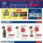 First Choice Liquor Free Site-Wide Standard Delivery (Today Only)