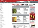 Save up to 30% @ ALLPOSTERS.com
