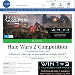 Win 1 of 3 Halo Collector's Bundles incl a 500GB Xbox One S Console Worth $793.94 from Woolworths [Purchase Halo Wars 2]