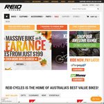 Reid Cycles Sydney Store Closing Down - 50% Discount All Accessories + Other Bike Deals