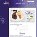 FREE* CADBURY Sweet Treats E-Cookbook with Any Purchase of 2 CADBURY Baking or PHILADELPHIA Products @ Coles