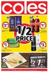 Coles 28/6: Cadbury Family Block $2.50, Coca-Cola 1L Varieties $1.42, John West Tuna $1, SunRice $6.80, Spam $2.45