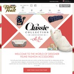 Purchase Fancy Feast Classic Cans and Redeem a Gift – Cat Brush, Scratching Lounge, Cat Tunnel & Cat Bed