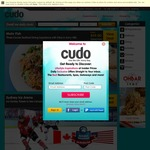 15% off Deals over $29 @ Cudo and Living Social