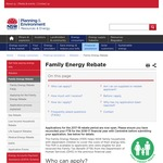 NSW Family Energy Rebate 2017/2018