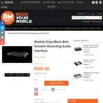 Mackie Onyx Black Bird Firewire Recording Audio Interface - $599 Shipped (Was $1099) @ Belfield Music