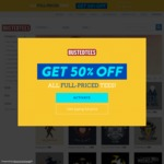 Busted Tees 50% off All Full Price Tees