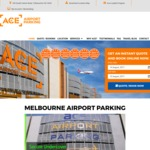 1 Day Free with No Minimum / 2 Days Free with 5 Day Minimum @ Ace Airport Parking, Melbourne Airport