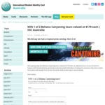 Win 1 of 2 Behana Canyoning Tours Valued at $179 Each from ISIC