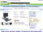 "IBM LENOVO THINKCENTRE A60 DESKTOP + 19"" WS LCD BUNDLES => $700 @ OZTION"
