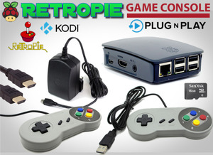 RetroPie 16GB SNES Retro Gaming Console - $100 September