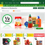 $5 off $20+ Spend on Fresh Fruit & Vegetables in One Shop @ Woolworths Online before 31 Oct 2017